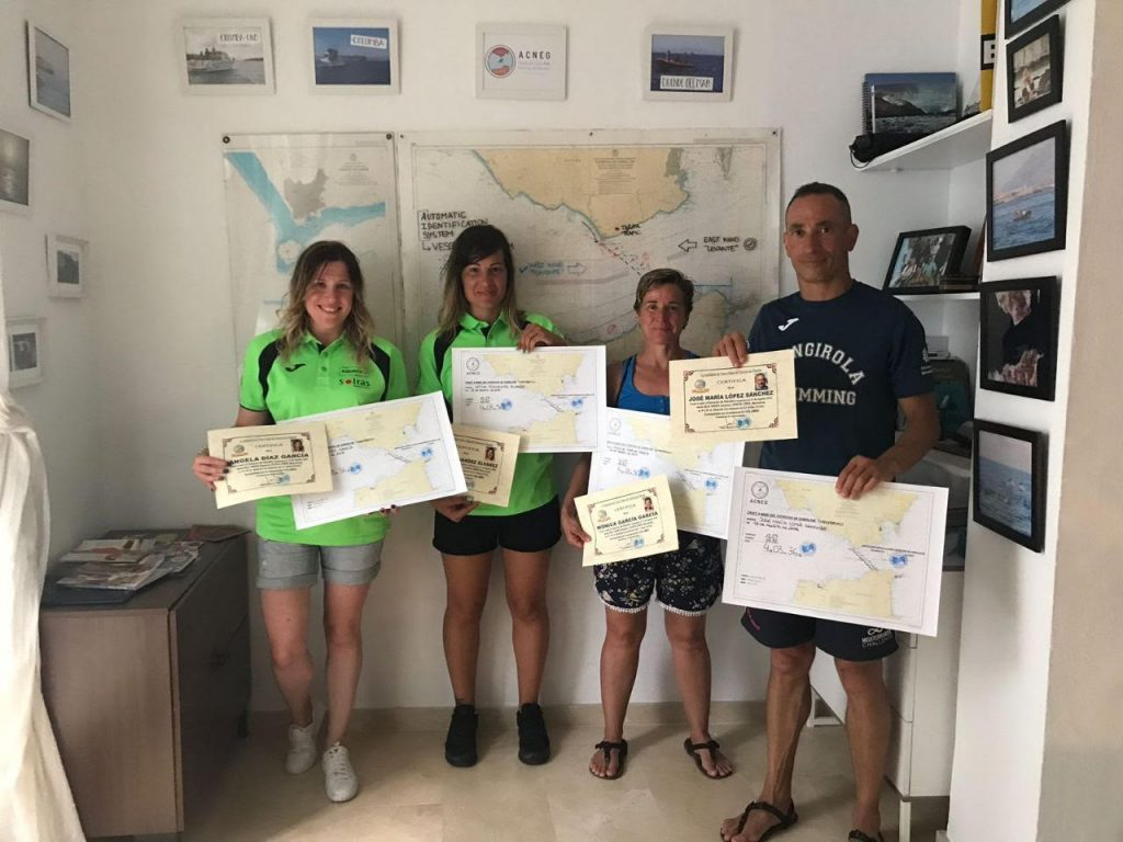 office acneg straits of gibraltar swimming association